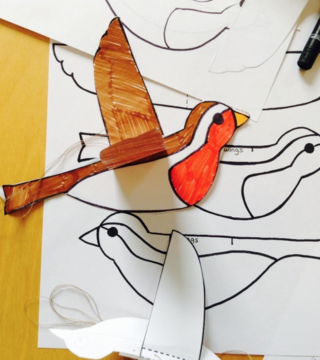 Make Your Own Robin Instructions and Template