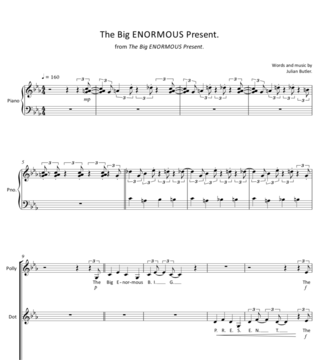 Sheet Music for The Big ENORMOUS Present